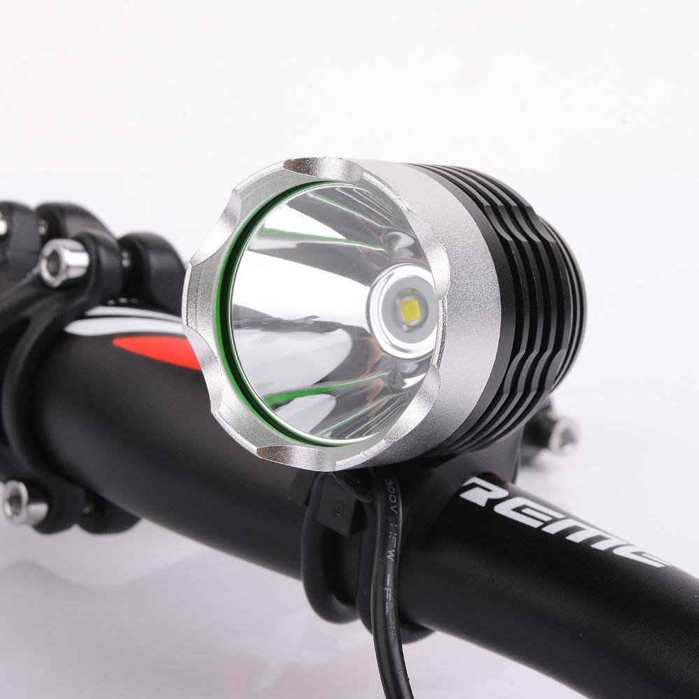 Luces de bicicleta.