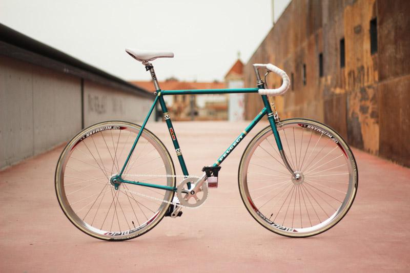 Bici fixie vintage