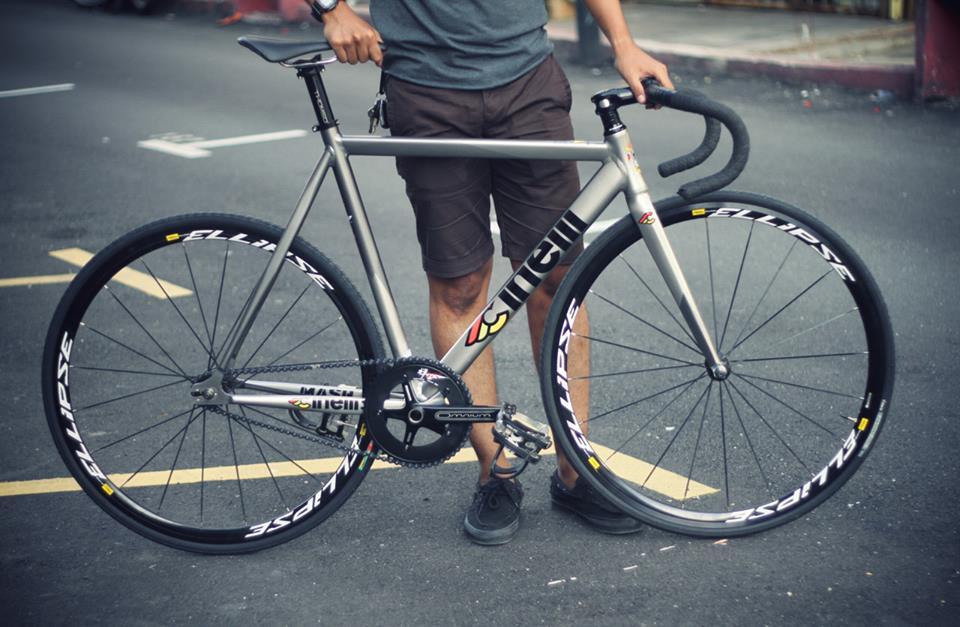 bicicleta fixie cinelli