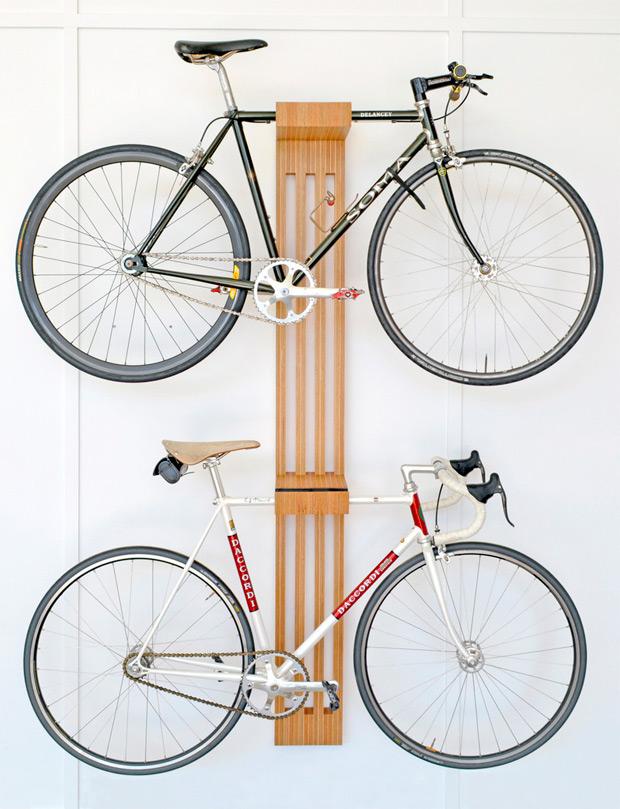 soporte de diseño para bicicletas