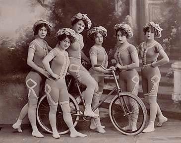 acrobacias en bicicleta historia